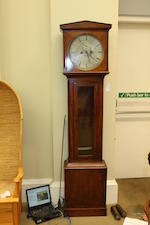 A mid-19th century mahogany longcase domestic regulator,  James Bell, Edinburgh