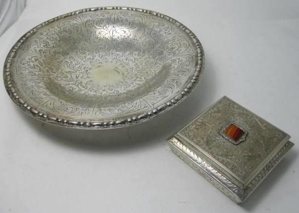 A continental circular dish  (2)