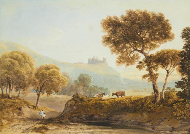 Anthony Vandyke Copley Fielding, P.O.W.S. (British, 1787-1855) Harlech Castle