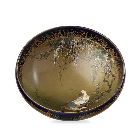 A Satsuma bowl Kinkozan