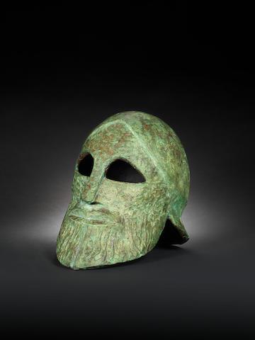 Dame Elisabeth Frink R.A. (British, 1930-1993) Midas Head 28 cm. (11 in)