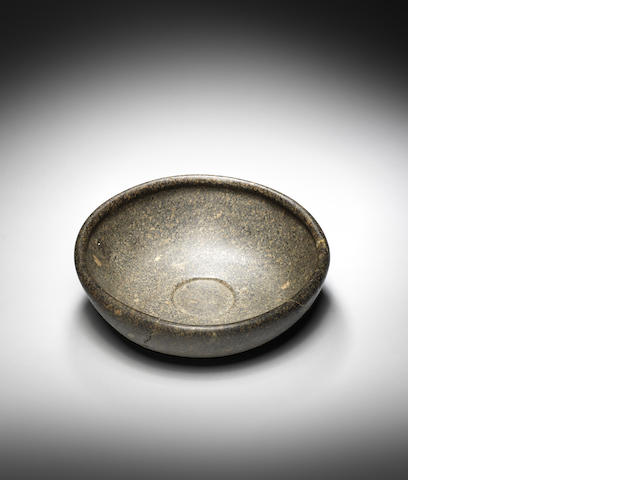 An Egyptian granite bowl