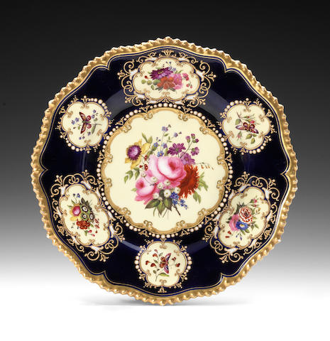 A fine Flight, Barr and Barr cabinet plate, circa 1825