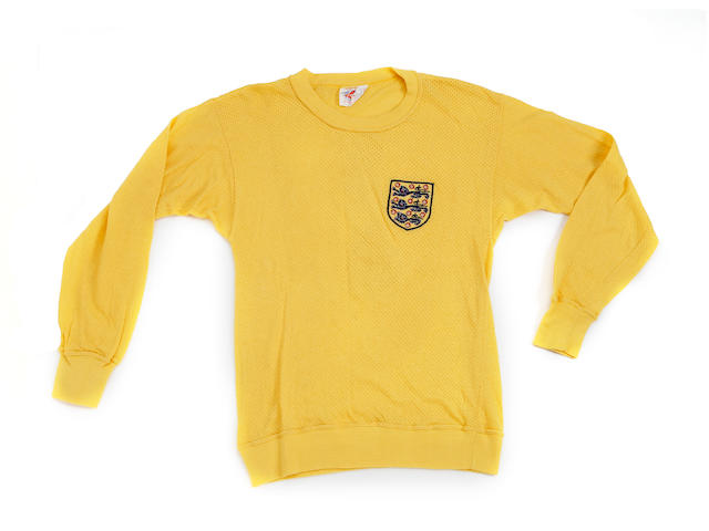 1970 Mexico World Cup Gordon Banks shirt