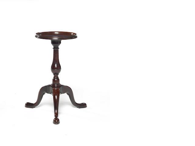 A George II mahogany kettle stand