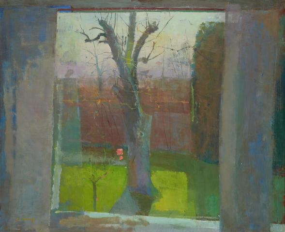 Fred Cuming (British, born 1930) View through a window