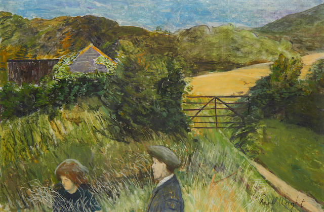 Carel Weight R.A. (British, 1908-1997) Summer morning