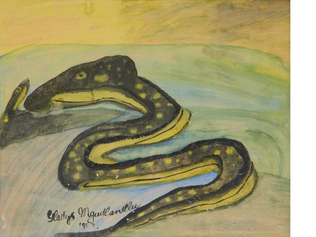 Gladys Mgudlandlu (South African, 1917-1979) Snake