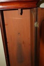 A 19th century mahogany longcase clock Inscribed Alexander Hood, Dunfermline