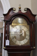 A George III mahogany longcase clock Robert Menzies, Perth