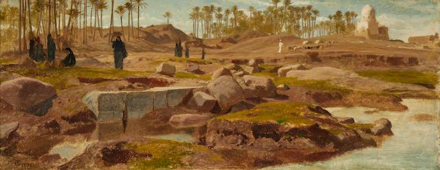Frederick Goodall, RA (British, 1822-1904) Memphis