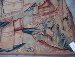 A late 17th/early 18th century Brussels historical tapestry  458cm by 272cm
