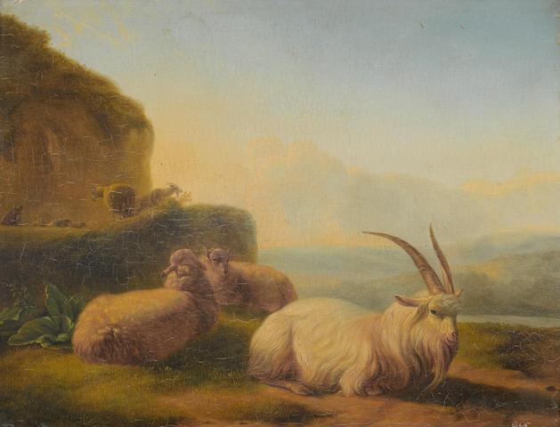 Balthasar Paul Ommeganck (Antwerp 1755-1826) Study of goats