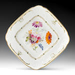 A good Swansea dish by Henry Morris, circa 1815-17