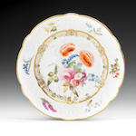 A good Swansea plate, circa 1815-17
