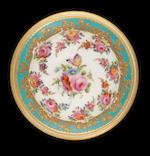 A rare Nantgarw tazza, circa 1818-20