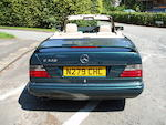 1996 Mercedes Benz E320 Convertible