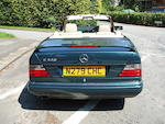Property of a deceased's estate,1996 Mercedes-Benz E320 'Sportline' Cabriolet  Chassis no. WDB1240662C281136 Engine no. 10499222100561
