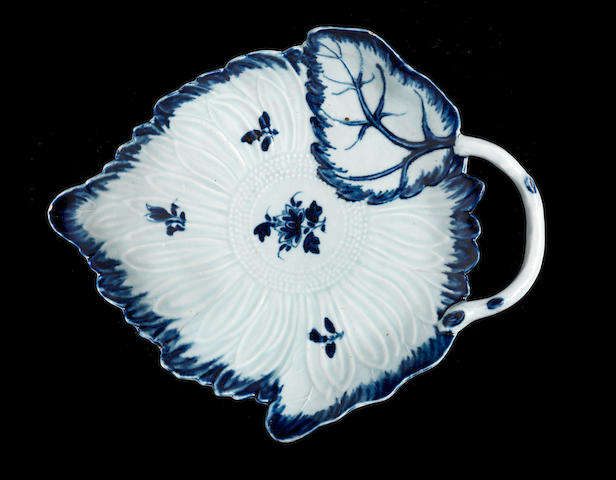 A very rare William Reid dish, circa 1756-61