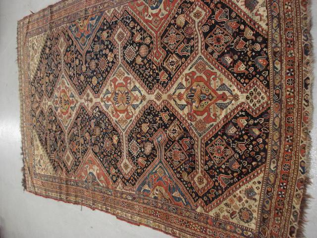 A Kashgai rug, South West Persia, 276cm x 161cm