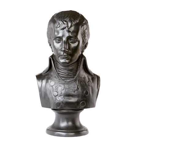 A resin bust of Napoleon