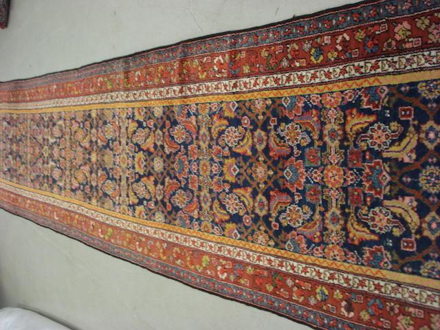 A Malayir runner, West Persia, 510cm x 106cm