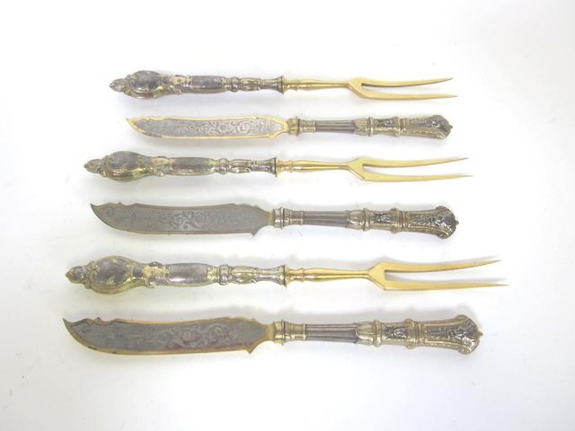 A large quantity of assorted  silver flatware most stamped with post-1888 German mark, 800 standard  (Qty)