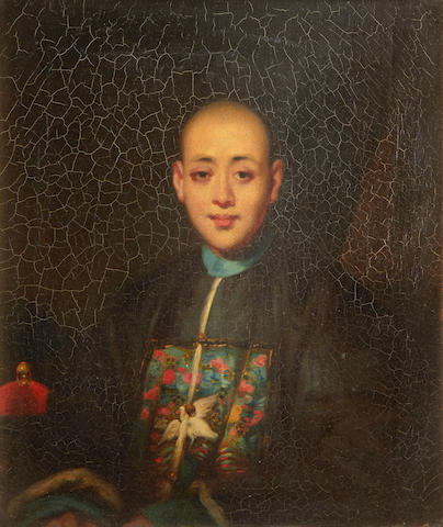 Lamqua (Chinese, active 1805-1830) Hong Merchant, Canton