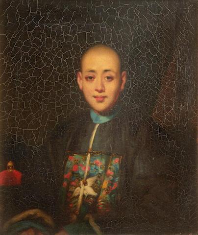 Lamqua (Chinese, active 1805-1830) Hong Merchant, Canton