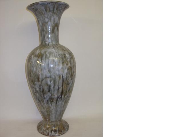 A large Doulton Lambeth stoneware vase