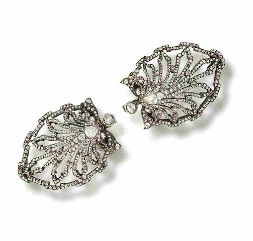 An early 20th century jabot pin (2)