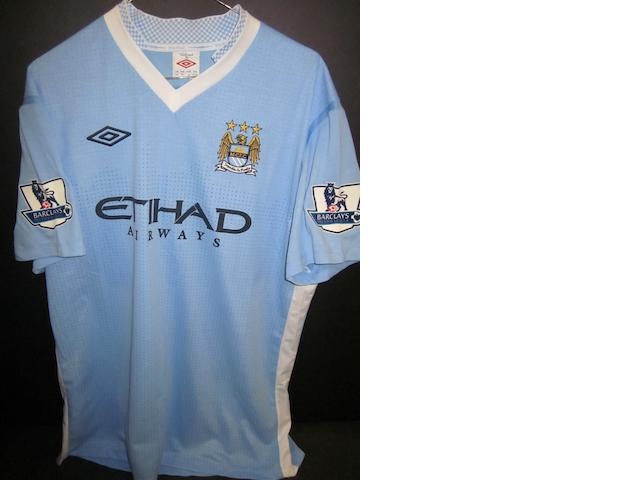 2011/12 Toure match worn Manchester City shirt