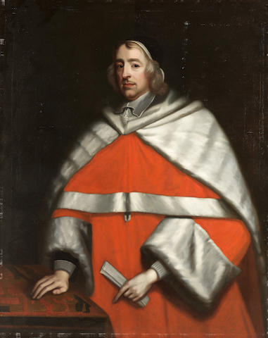 Studio of John Michael Wright (London 1617-1694) Portrait of Sir Wadham Wyndham (1609-1668), three-quarter-length, in unframed