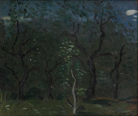 André Derain (French, 1880-1954) Les oliviers, fond du jardin en Provence