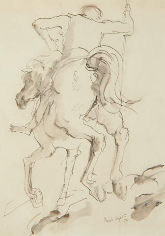 56 framed drawings / sketches by Paul Wyeth RA (1920 – 1983)