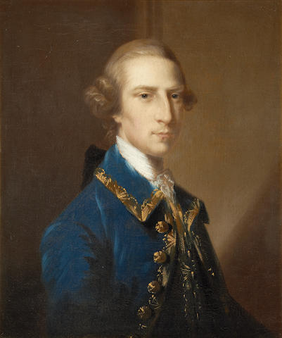 Attributed to John Astley (British, 1730-1787) Portrait of Tyringham Backwell, circa 1770