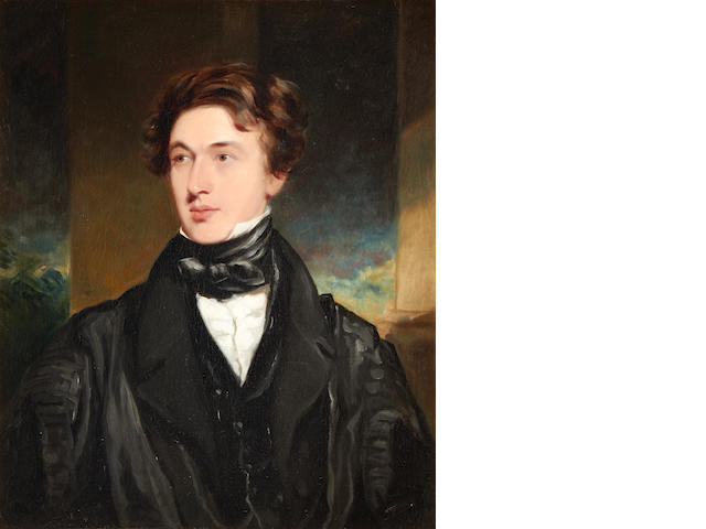 Portrait of a Gentleman by Samuel Howell, exhibited at the Royal Academy,1829