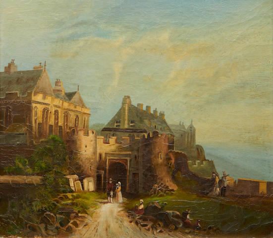 British School, 19th century Stirling Castle