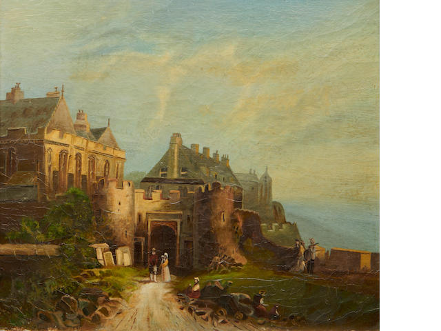 Stirling Castle – Oil, 19th Century