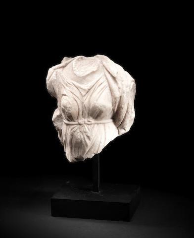A Roman marble torso of Artemis