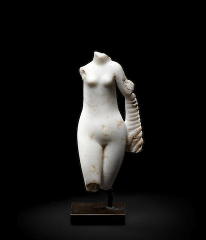 A Hellenistic marble figure of Aphrodite