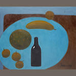 Mary Fedden R.A. (British, 1915-2012) The Black Bottle