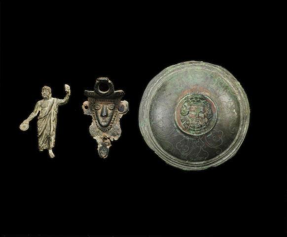 Three Roman bronzes 3