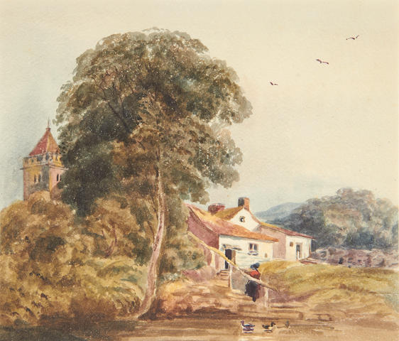 3 19th century English watercolours