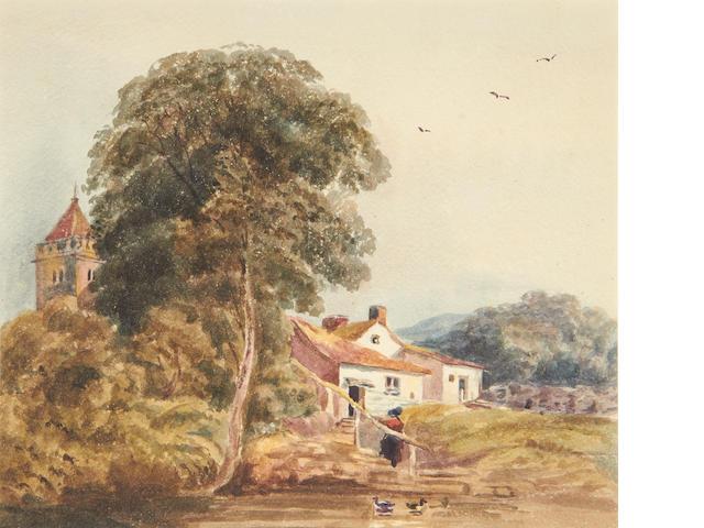 3 19th century English watercolours