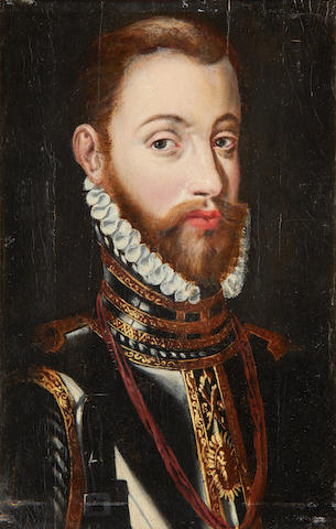 After Antonis Mor Portrait of Philip II of Spain