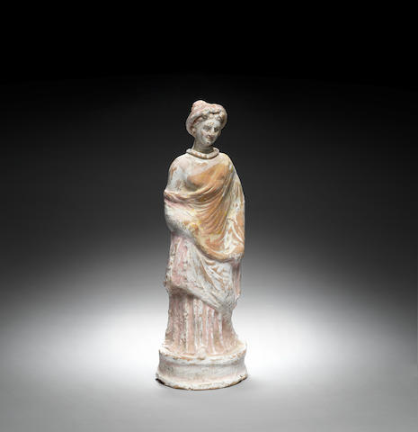 A Canosan terracotta female figure