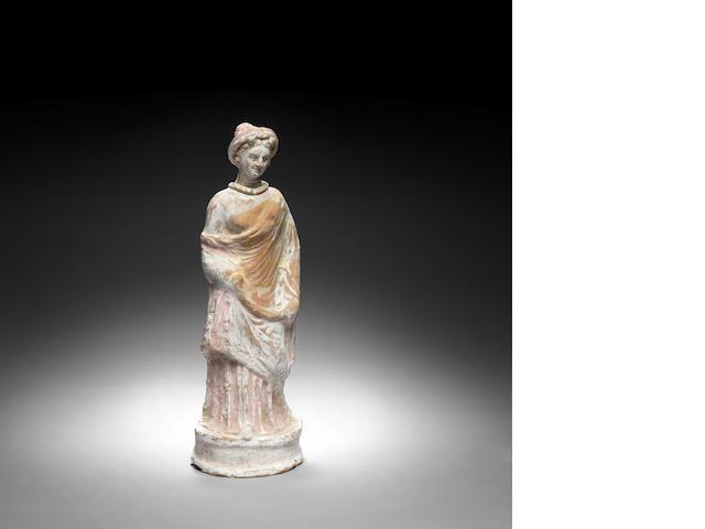 A Canosan terracotta female figure