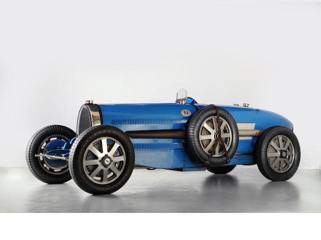 Ex- works, Monza winner, with A. Varzi, Prince Christian Lobkowitz, Peter Hampton, Abba Kogan, 1931 Bugatti T54 # 54201