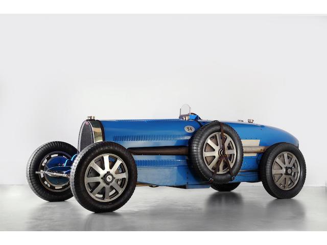 Ex- works, Monza winner, with A. Varzi, Prince Christian Lobkowitz, Peter Hampton, Abba Kogan, 1931 Bugatti T54 # 54201